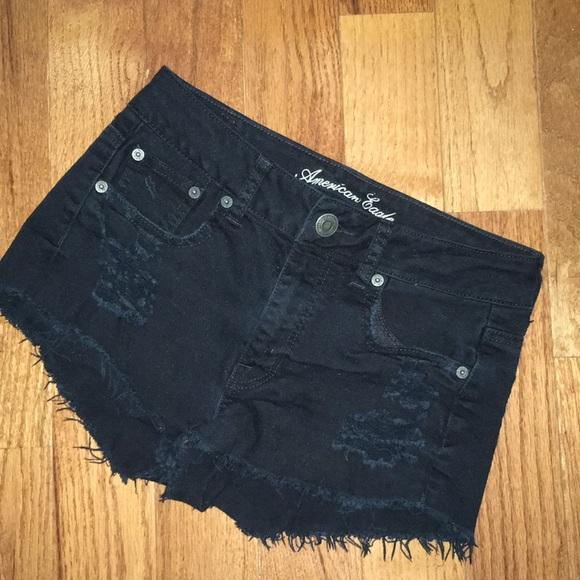 American Eagle Outfitters Pants - Black American Eagle shorts